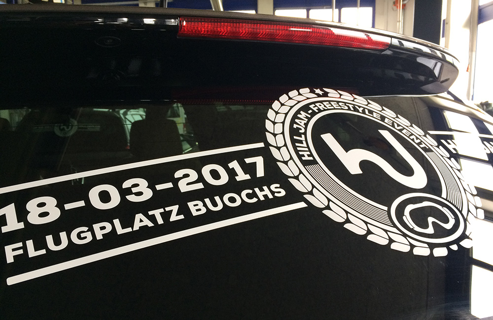 Autosticker-Tag